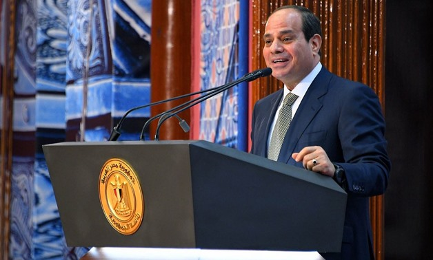 File-President Abdel Fatah El Sisi - press photo