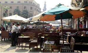 FILE - cafe in Cairo - Reuters