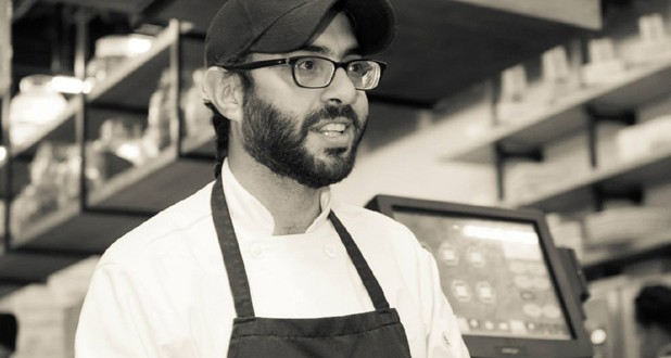 Chef Wesam Masoud, chef and partner at Chef's Market Restaurant, says hygiene is the most important focus of his cooking show Kitchen 101 (Matbakh 101) on CBC Sofra.