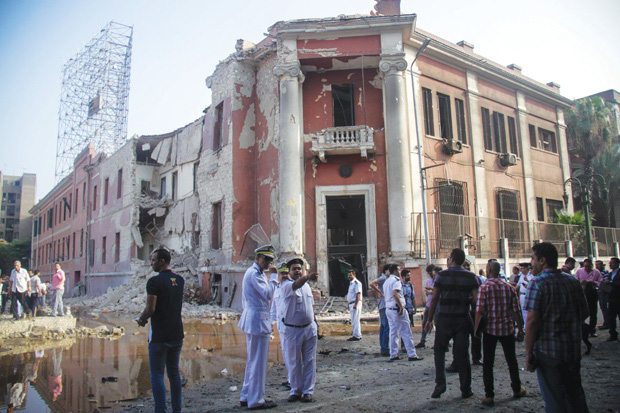 The Italian Consulate in downtown Cairo was bombed on July 11 by terror group Ansar Bayt al-Maqdis.