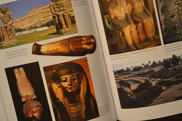 Illustrations from the book Scanning the Pharaohs.