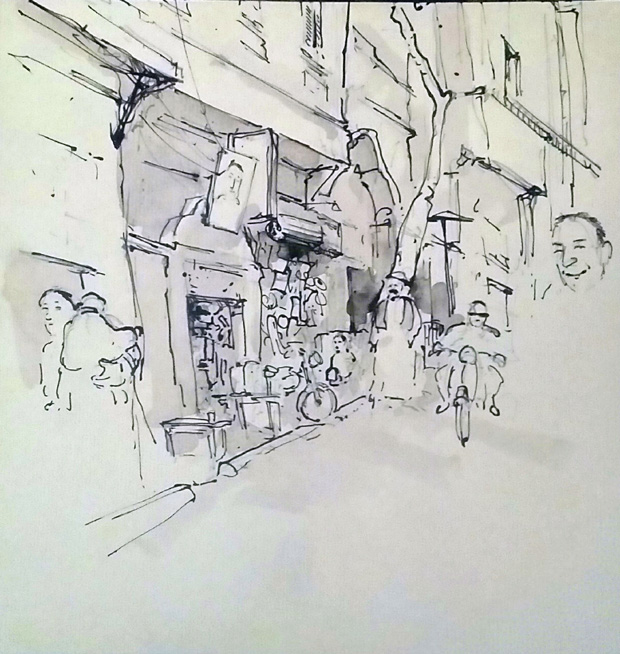 Cairo Urban Sketchers 1