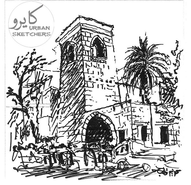 Cairo Urban Sketchers 2