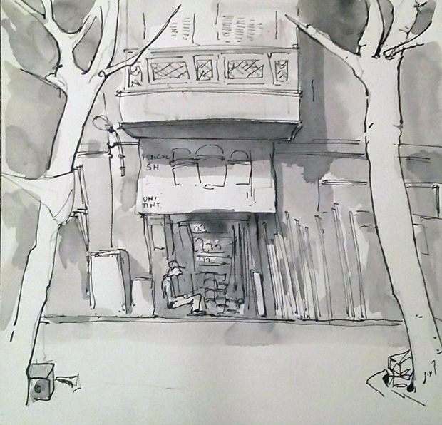 Cairo Urban Sketchers 5