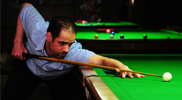 Mohamed El Molla, 35, is Egypt's ranked #1 champion of the 9-ball and the captain of the national team.