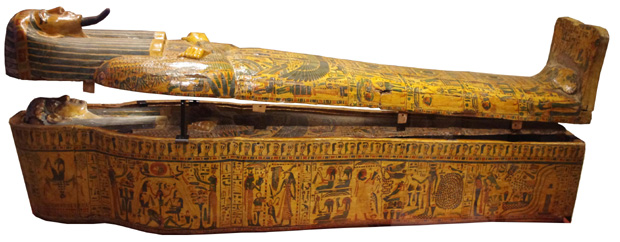 Double coffin of Khonsumose, Medelhavsmusee,  Uppsala (courtesy Aidan Dodson)