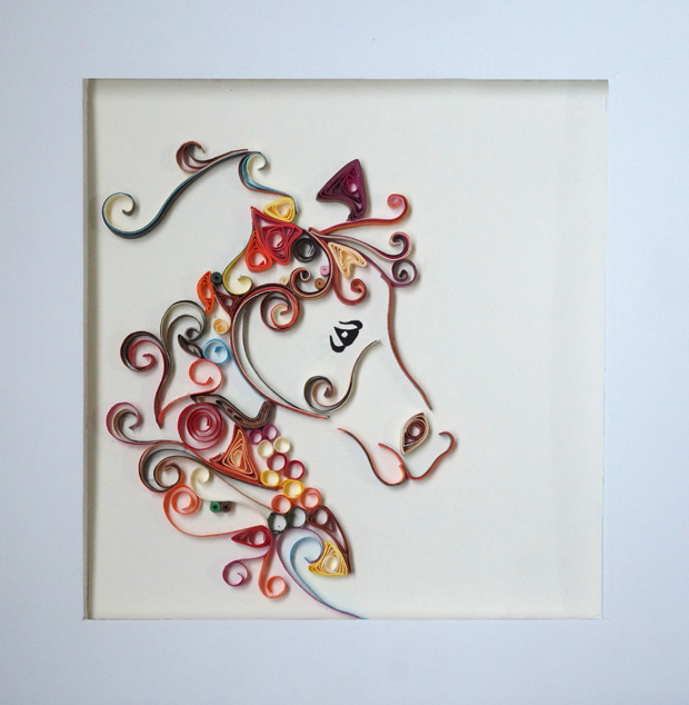 anale paper quilling handmade in egypt