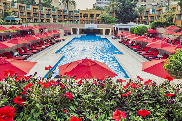 24 best day use swimming pool deals in egypt egypt today for Terrace hilton zamalek