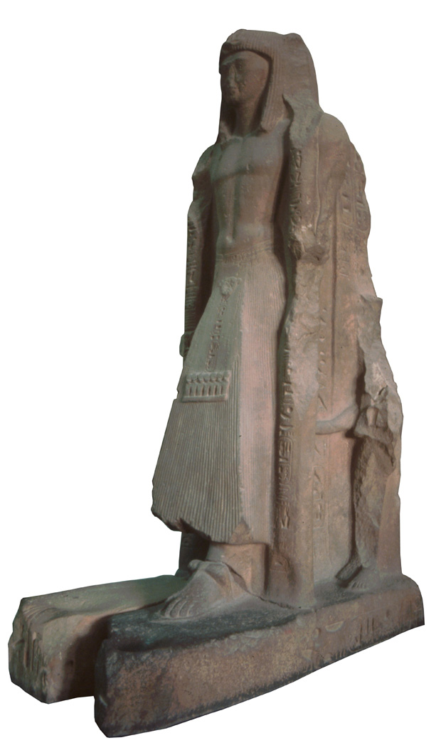 Statue of Sethy II and his first wife Takhat, the mother of Amenmeses, from Karnak and now in the Egyptian Museum, Cairo.
