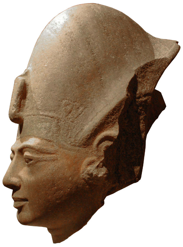 Head of a statue of Amenmeses, from Karnak and now in the Metropolitan Museum of Art, New York.