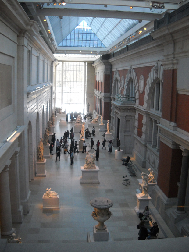 The Metropolitan Museum of Art, one of the world's most-visited museums, has a permanent collection of more than two million works across 17 departments.