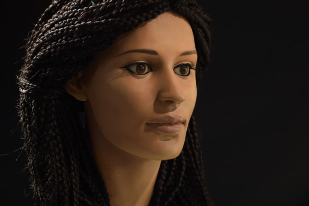 Facial reconstruction of 'Meritamun' (Courtesy: The University of Melbourne's Meritamun Project (particularly Jennifer Mann, forensic sculptor & Paul Burston, photographer).