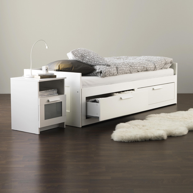 2. Brimnes Day Bed frame with drawers
