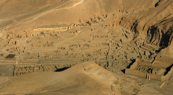 Deir al-Medina (image courtesy of Howard Middleton-Jones)